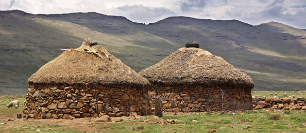 Morija, in the Maseru region of Lesotho